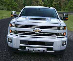 Chevrolet Silverado 2500  with 6.6L Duramax L5P
