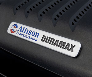Allison 1000, Duramax diesel engine badge