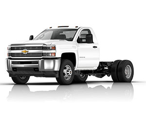 Duramax equipped Chevrolet chassis cab