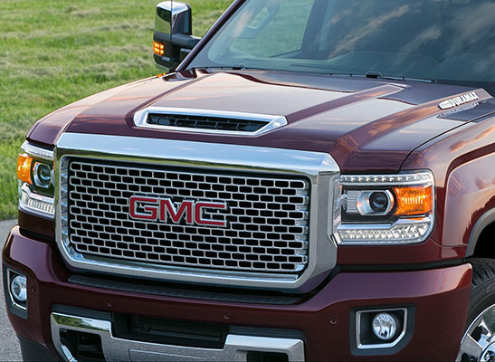 2017 Gmc Sierra Hood Scoop Standard On The Duramax Sel