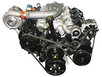 6.5L Detroit diesel engine