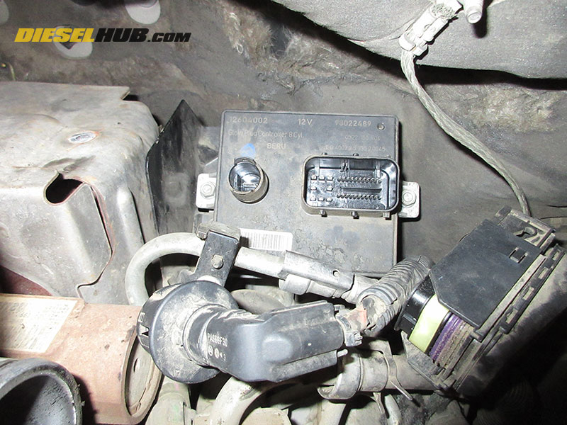 6.6L Duramax Glow Plug Controller Diagnostics & Replacement ... on