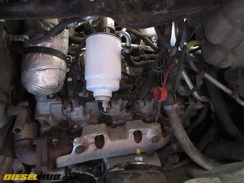 6.6L Duramax Fuel Filter Replacement & Water-Separator Drain Procedures | 2015 Duramax Fuel Filter |  | Duramax Hub