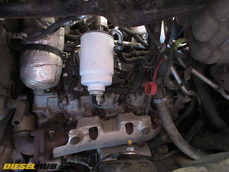 6.6L Duramax Fuel Filter Replacement & Water-Separator Drain Procedures | 2004 3500 Express Fuel Filter Location |  | Duramax Hub