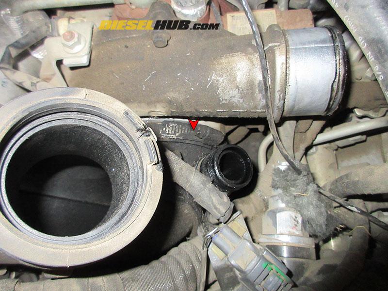 6 6L Duramax IAT Sensor Replacement Procedures