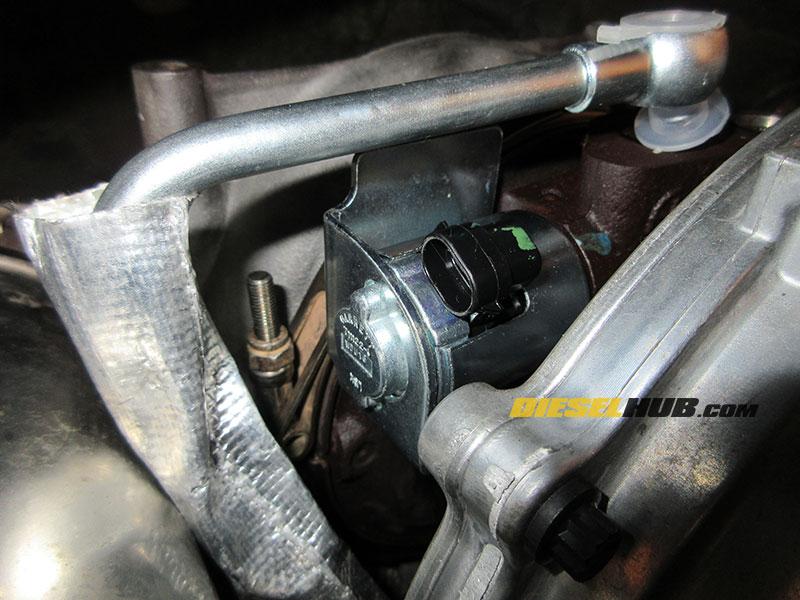 6 6L Duramax VGT Solenoid/Actuator Replacement Procedures