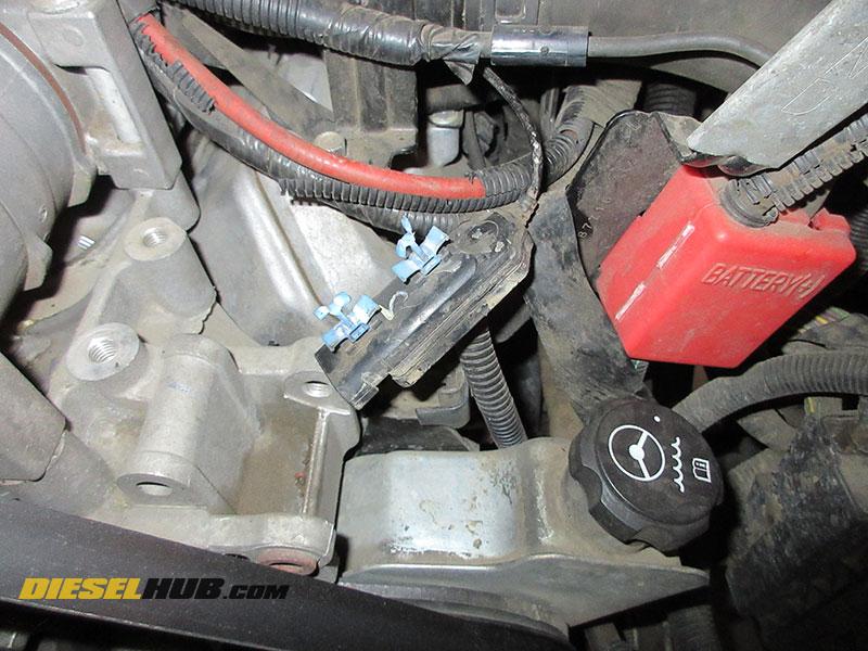 6 6l Duramax Turbo Vane Position Sensor Replacement Procedures