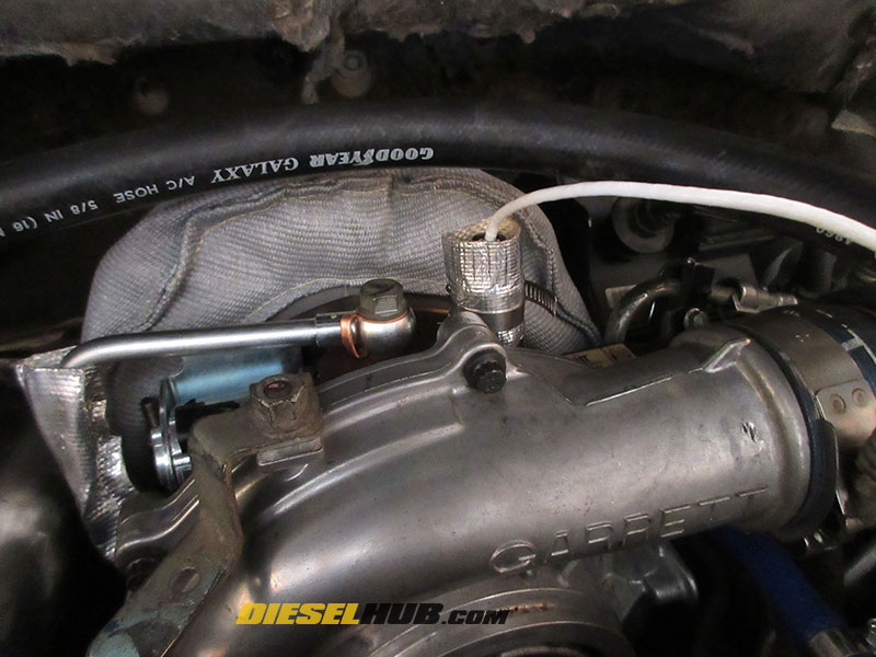 6 6L Duramax Turbo Vane Position Sensor Replacement Procedures